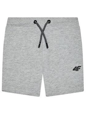4F 4F Sportshorts HJL21-JSKMD001 Grau Regular Fit