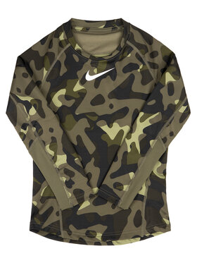 Nike Nike Funkčné tričko BV4407 Zelená Regular Fit