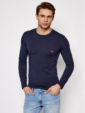 Emporio Armani Underwear Emporio Armani Underwear Longsleeve 111023 1P512 00135 Granatowy Regular Fit