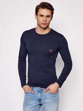 Emporio Armani Underwear Emporio Armani Underwear Marškinėliai ilgomis rankovėmis 111023 1P512 00135 Tamsiai mėlyna Regular Fit