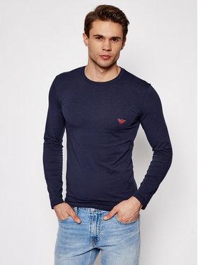 Emporio Armani Underwear Emporio Armani Underwear S dlhými rukávmi 111023 1P512 00135 Tmavomodrá Regular Fit