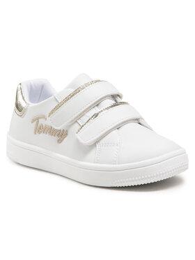 Tommy Hilfiger Tommy Hilfiger Sneakersy Low Cut Velcro Sneaker T1A4-31017-1189 S Biały