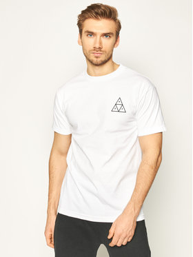 HUF HUF T-shirt Essentials Tt TS00509 Bianco Regular Fit