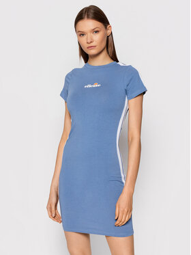 Ellesse Ellesse Повсякденна сукня Rigi SGK08448 Голубий Slim Fit