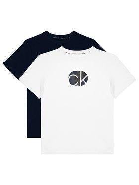 Calvin Klein Underwear Calvin Klein Underwear 2-dielna súprava tričiek 2Pk Tee B70B700282 Farebná Regular Fit