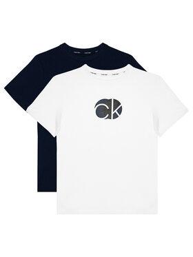 Calvin Klein Underwear Calvin Klein Underwear Set 2 tricouri 2Pk Tee B70B700282 Colorat Regular Fit