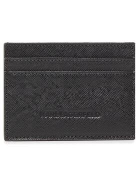 KARL LAGERFELD KARL LAGERFELD Kreditinių kortelių dėklas 815417 502452 Juoda