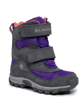Columbia Columbia Śniegowce Childrens Parkers Peak Boot YC5409 Fioletowy