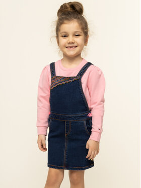 Billieblush Billieblush Kasdieninė suknelė U12497 Tamsiai mėlyna Regular Fit