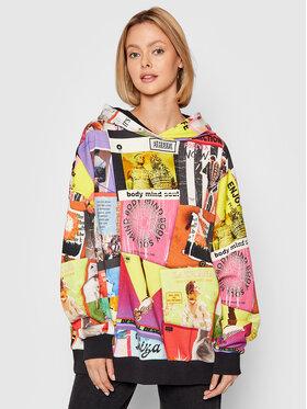 Desigual Desigual Sweatshirt Proclaim 21WWSK13 Bunt Loose Fit