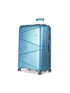 Puccini Puccini Nagy kemény borítású bőrönd Victoria PP019A 7 Kék