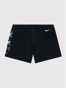 Nike Nike Badehose Logo Square Leg NESSB852 Schwarz