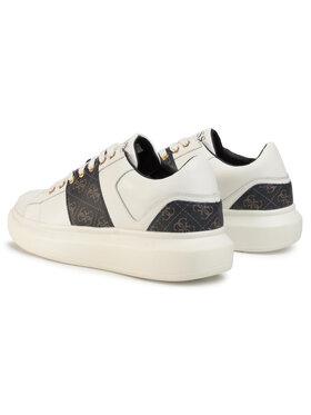 Guess Guess Sneakersy Kean FM5KEA FAL12 Bílá