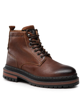 Pepe Jeans Pepe Jeans Trapery Martin Boot PMS50205 Brązowy