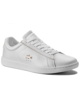 Lacoste Lacoste Сникърси Carnaby Evo 118 6 Spw 7-35SPW0013216 Бял