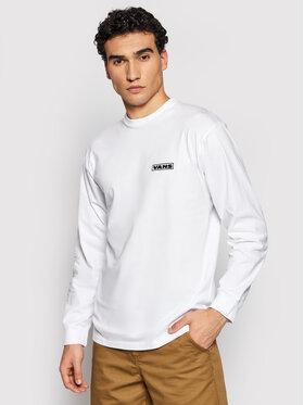 Vans Vans Marškinėliai ilgomis rankovėmis Blooming VN0A54DA Balta Classic Fit
