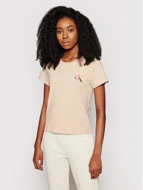 Calvin Klein Underwear Calvin Klein Underwear Póló 000QS6356E Barna Regular Fit