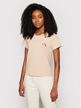 Calvin Klein Underwear Calvin Klein Underwear T-shirt 000QS6356E Marrone Regular Fit