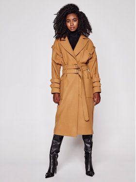 Rage Age Rage Age Trench Mamtaz 3 Marrone Regular Fit