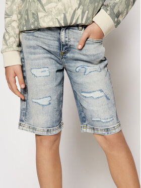 Guess Guess Jeansshorts L1RD02 D46T0 Dunkelblau Regular Fit