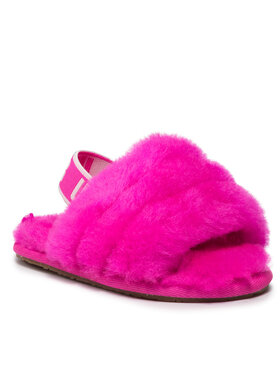 Ugg Ugg Papuci de casă T Fluff Yeah Slide 1098579T Roz
