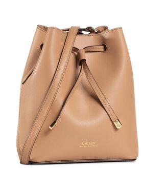 Lauren Ralph Lauren Lauren Ralph Lauren Дамска чанта Debby II Drw Min 431670243040 Кафяв