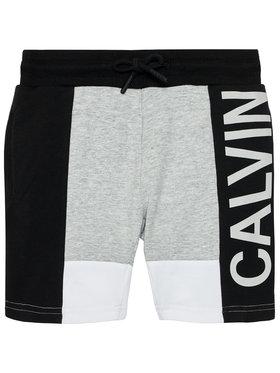 Calvin Klein Jeans Calvin Klein Jeans Szorty sportowe Colour Block Logo IB0IB00787 Szary Regular Fit