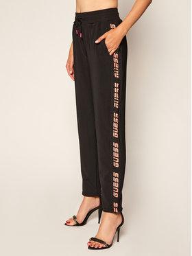 Guess Guess Teplákové nohavice O0BA28 FL032 Čierna Regular Fit
