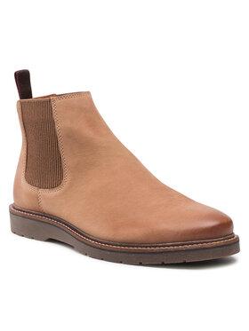 Badura Badura Kotníková obuv s elastickým prvkem MI07-BB142-A969-02 Hnědá