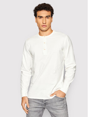 Selected Homme Selected Homme Longsleeve Baker 16080133 Λευκό Regular Fit