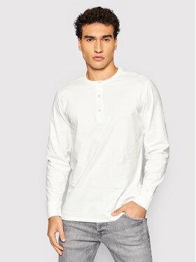 Selected Homme Selected Homme Тениска с дълъг ръкав Baker 16080133 Бял Regular Fit