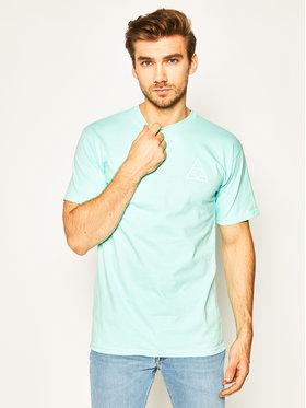 HUF HUF T-Shirt Essentials Tt TS00509 Niebieski Regular Fit