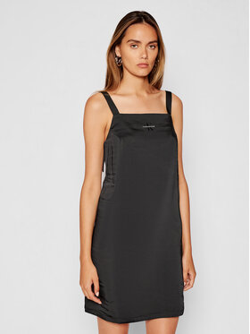 Calvin Klein Jeans Calvin Klein Jeans Sukienka letnia J20J216272 Czarny Regular Fit