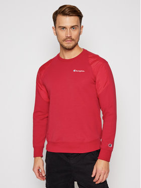 Champion Champion Sweatshirt 214860 Rot Custom Fit