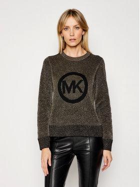 MICHAEL Michael Kors MICHAEL Michael Kors Sweter MH06PFFFJU Złoty Regular Fit