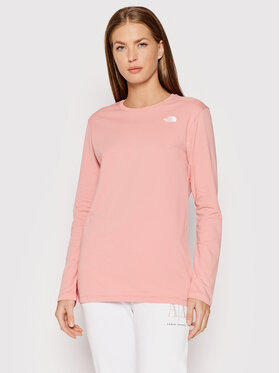 The North Face The North Face Bluzka Simple Dome NF0A3RZ60LA1 Różowy Relaxed Fit