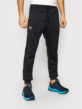 Under Armour Under Armour Donji dio trenerke Ua Sportstyle 1290261 Crna Loose Fit