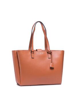 Calvin Klein Calvin Klein Дамска чанта Shopper Md W/Laptop Comp K60K608242 Кафяв