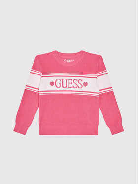 Guess Guess Maglione K1YR00 Z2S40 Rosa Regular Fit
