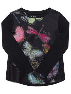 Desigual Desigual Блуза Hidalgo 20WGTK89 Черен Regular Fit