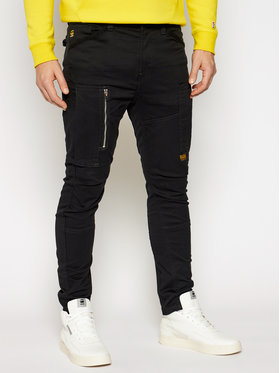 G-Star RAW G-Star RAW Spodnie materiałowe Flight Cargo 3D D18149-C105-6484 Czarny Skinny Fit