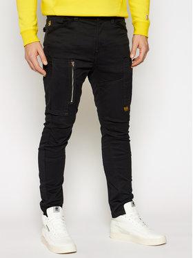 G-Star Raw G-Star Raw Текстилни панталони Flight Cargo 3D D18149-C105-6484 Черен Skinny Fit