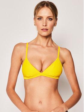 Seafolly Seafolly Bikini pezzo sopra Essential 30969-640 Giallo