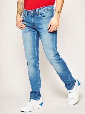 Pepe Jeans Pepe Jeans Regular Fit džíny Cash PM200124 Tmavomodrá Regular Fit