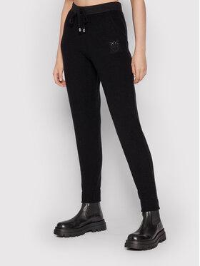 Pinko Pinko Spodnie materiałowe Teroldego 1G16B5 Y79Q Czarny Regular Fit