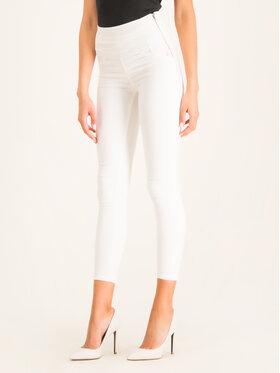 Patrizia Pepe Slim fit džínsy CJ0367/AS04-W146 Biela Slim Fit