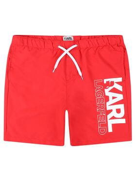 KARL LAGERFELD KARL LAGERFELD Short de bain Z20044 D Rouge Regular Fit