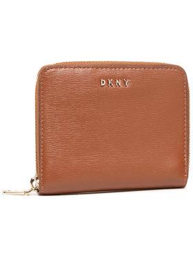 DKNY DKNY Veliki ženski novčanik Bryant-Sm Zip Around R8313656 Smeđa