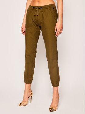 Napapijri Napapijri Текстилни панталони Maree W NP0A4E3PG Зелен Regular Fit