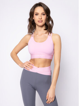 Calvin Klein Performance Calvin Klein Performance Podprsenkový top Medium Support Sports Bra 00GWS0K174 Růžová